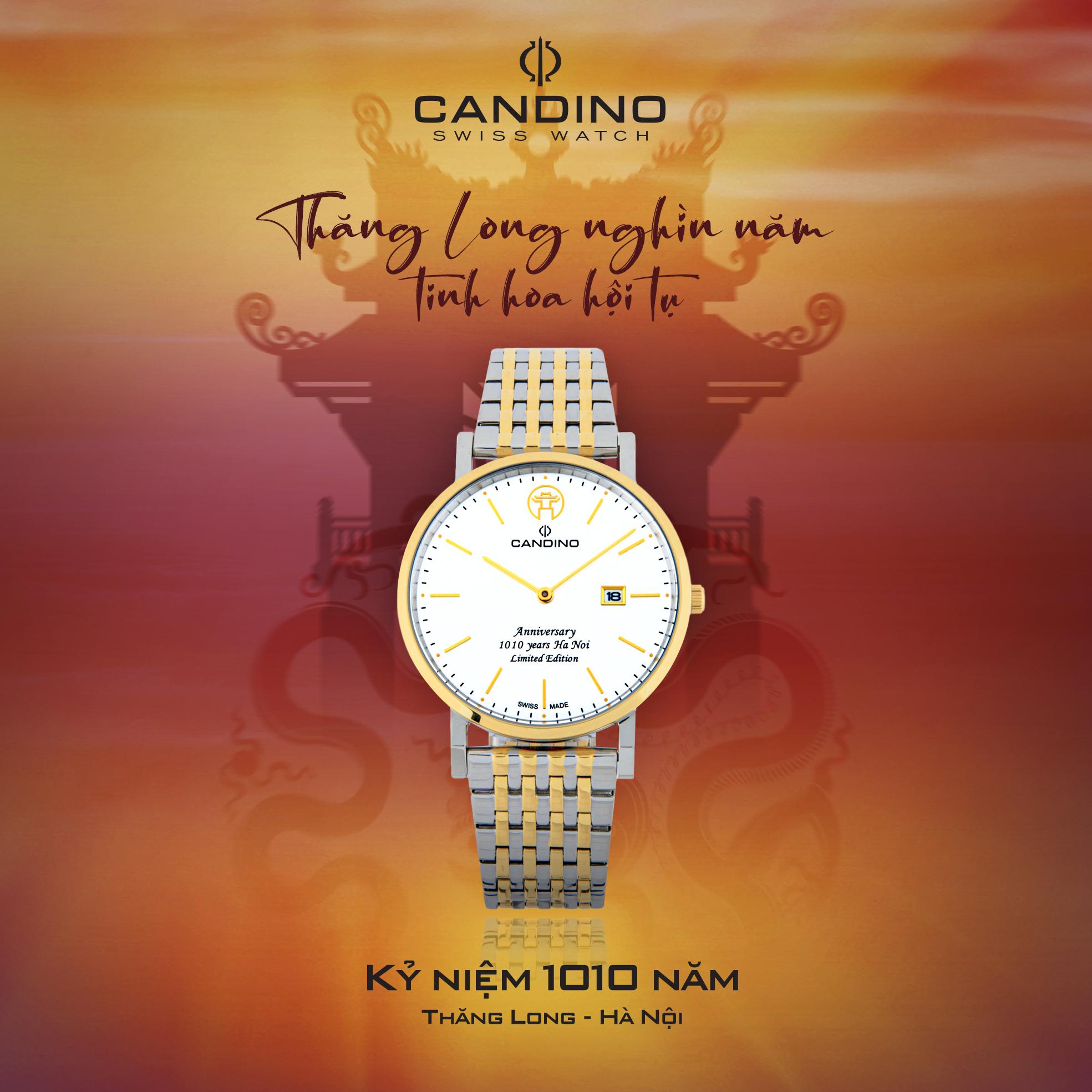 Đồng hồ nam CANDINO 1010